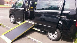 For disabled access try our wheelchair friendly Chester Black Cabs. Seats up to 6 passengers.