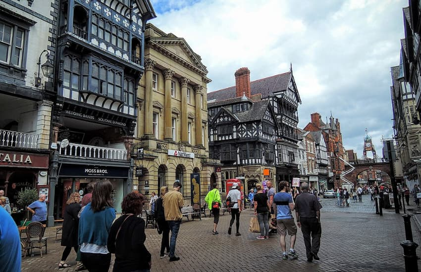 Sightseeing in Chester - View of Eastgate Clock - Chester Taxi Services